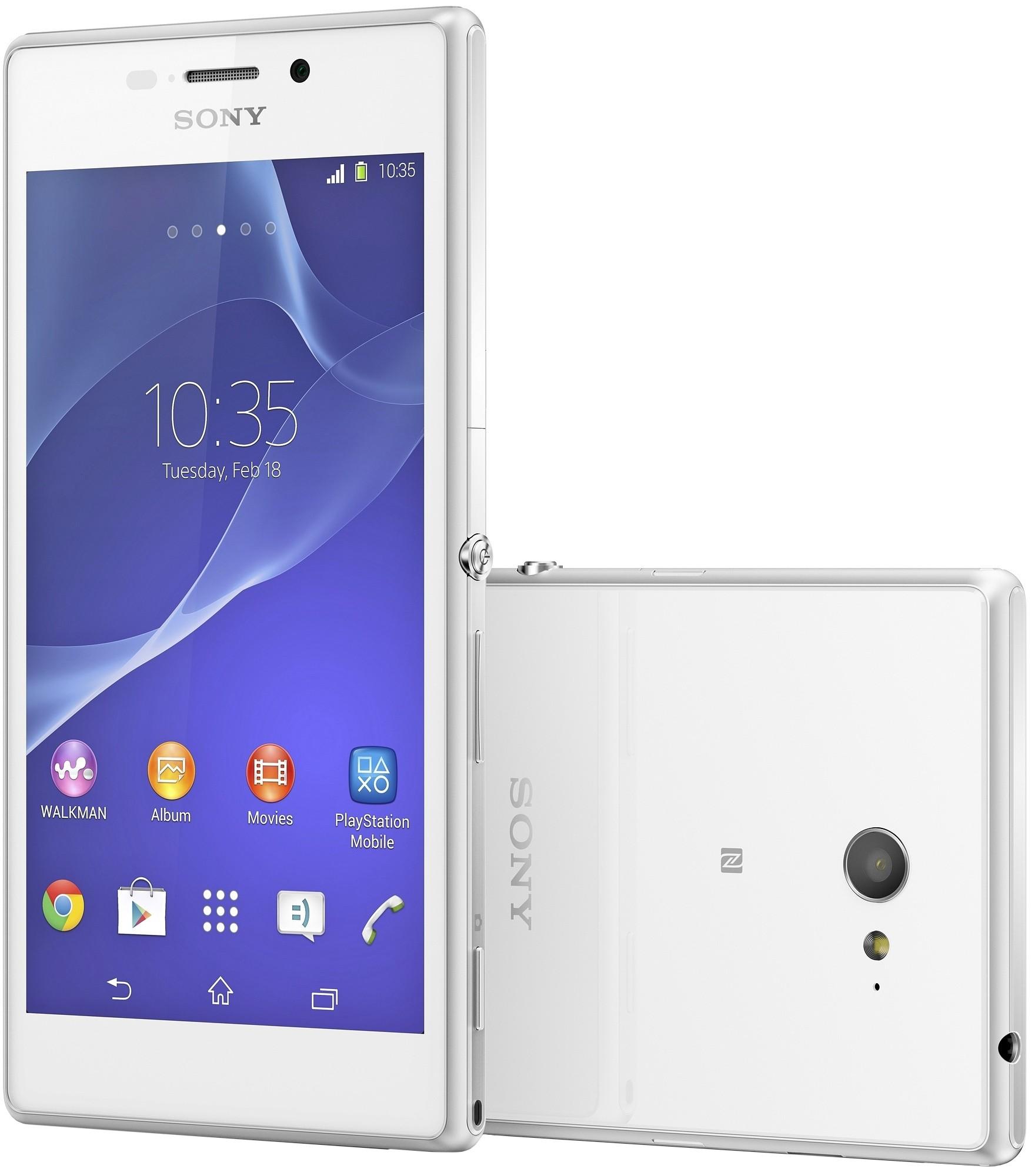 Официальная прошивка Sony XPeria M2