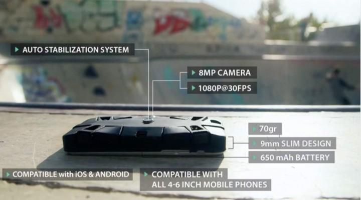 Создатели  представили летающий чехол для телефонов