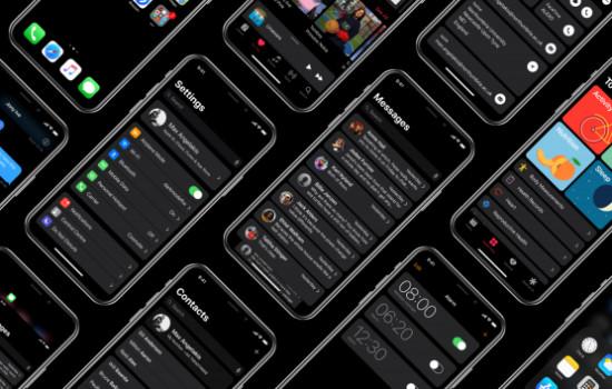 Приложения с темными темами на Android и iOS