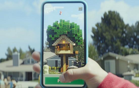 Minecraft Earth для iOS и Android станет соперником Pokemon Go