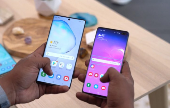 Galaxy Note 10 Plus в тестах отстал от Galaxy S10 Plus и Huawei P30 Pro